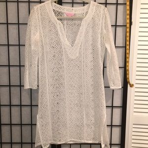 Lily Pulitzer Tunic/Coverup S